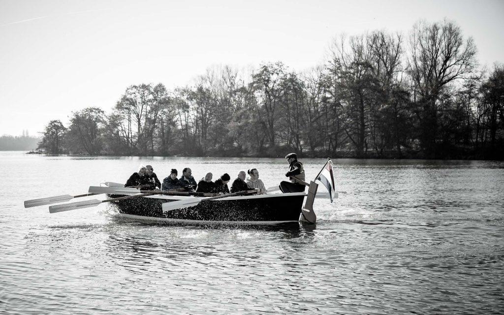 Sloeproeien Maastricht met Van Ommeren in actie