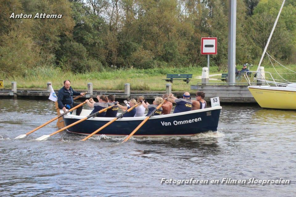 Fotoverslag van sloeproeiwedstrijd Langweer 2019