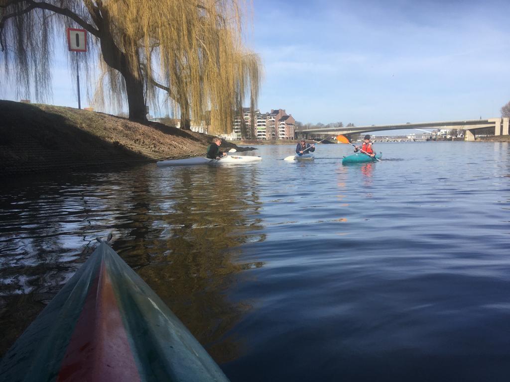 kano varen met Sloeproeien Maastricht